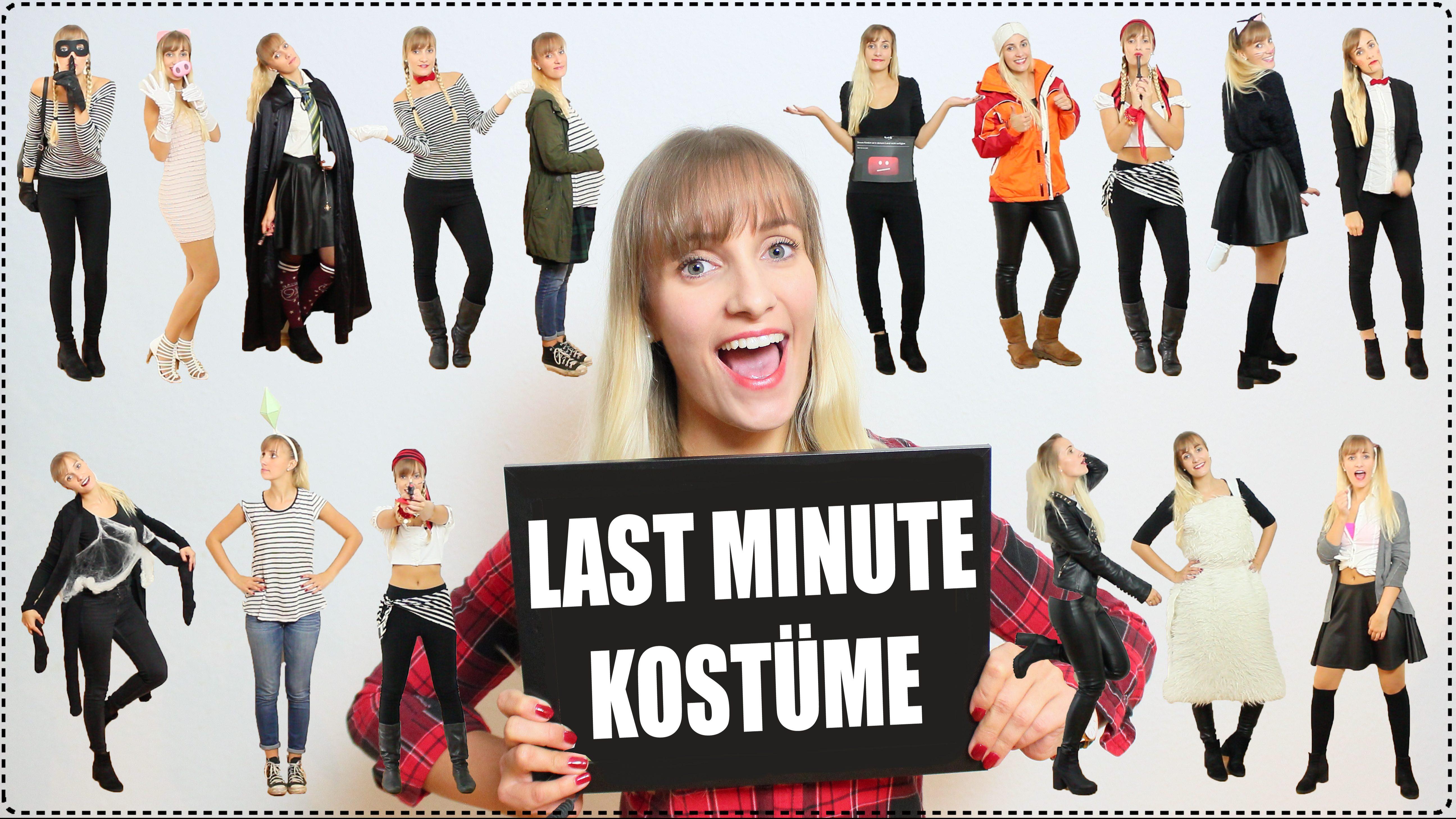 Last Minute Kostümideen DIY