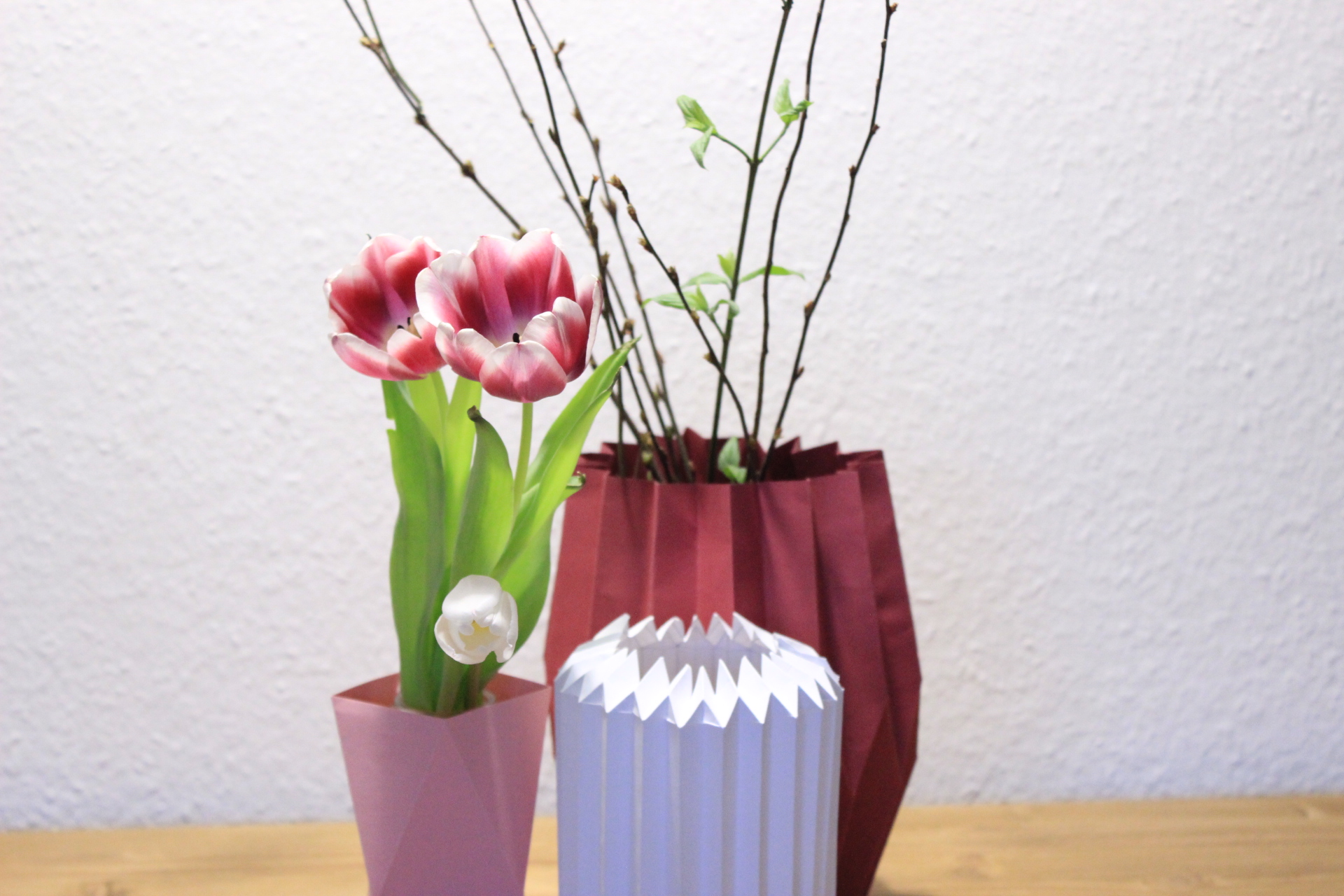 Origami Vasen