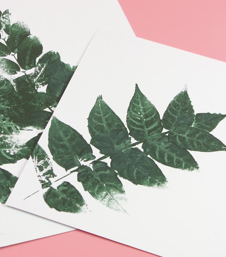 Blätter Poster Print