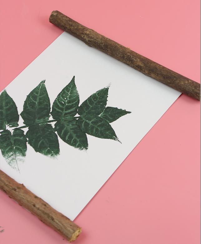 Blätter Print